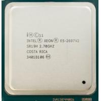 Best CPU Intel Xeon E5 2600 v2 / E5 2697 v2 2.70GHz 30MB SR19H Server Processor wholesale