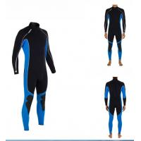 Best 3mm CR Neoprene Diving Suit for Men Water Sports , Smooth Skin wholesale