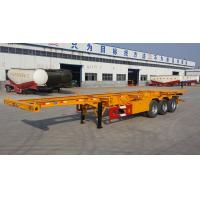 Best 40 feet container delivery trailer-Skeleton or Flatbed Platform selectable wholesale