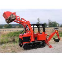 Buy cheap 35Hp Mini Dozer Agricultural Farm Crawler Tractor Track with Backhoe Loader from wholesalers
