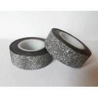 Best Waterproof 3D Glitter Flower Chipboard Tape For Diy Hand-Made Art Working wholesale