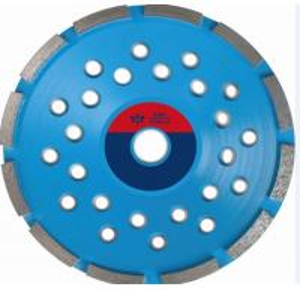 China Sintered Single Diamond Cup Wheel , Marble Diamond Cup Grinding Wheel  Silver Brazed on sale