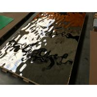 China high quality steel hammered sheet mirror finish decorative stainless steel ceiling panel on sale