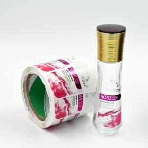 Custom Made Transparent Self Adhesvie PET Label Sticker for Facial Wash