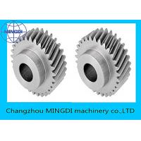 Best Forged , Machined , Heat Treated Single Helical Gear Bevel Wheel OEM wholesale