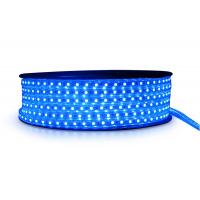 China Colorful High Voltage LED Strip 120 Degree Viewing Angle Mounting Track on sale