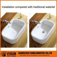 Buy cheap New design ceramic surface pop-up basin drainer for bathroom product