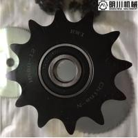 Best Ball Bearing Idler Sprockets For Ansi Roller Chain Black Color 45C Material wholesale