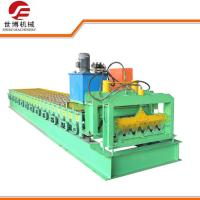 Corrugated Roof Sheet Metal Forming Equipment With Full Automatic Control