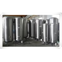 Best Stainless Steel Air Compressor Receiver Tank 60 Gallon / 80 Gallon / 100 Gallon wholesale