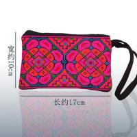 Best cross stitch fabric embroidery handbag purse ethnic borse hmong bags wholesale