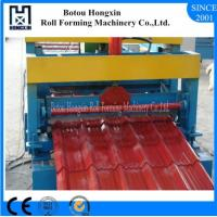 Best Galvanized Roof Panel Roll Forming Machine , CE Roof Sheet Making Machine wholesale