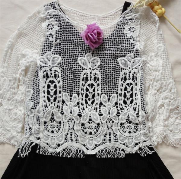 Cheap 2015 FASHION DESIGN lace cardigan for sale