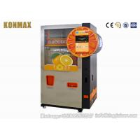 China 304 Stainless Steel Orange Vending Machine For Business With LCD Screen on sale