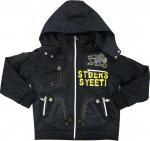 Best Autumn Outdoor Kids and Toddlers Hooded Fleece Jacket / Winter Baby Fleece Jackets wholesale