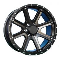 Best 20 inch black suv 6x139.7 alloy 4x4 wheels car rims with rivets wholesale