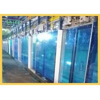 China Blue PE Protective Film For Window Glass Temporary Glass Protection Film on sale