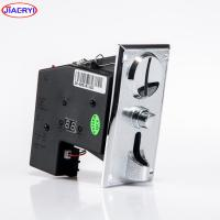 China ZINC ALLOY plate coin acceptor with coin operated Timer Control Board Power Supply box on sale