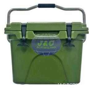 Customized Rotational Molded Cooler Box Mold , Precision Rotational Molding