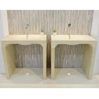 China Luxury Custom Stone Sink Basin American Style Full Overlay Construction on sale