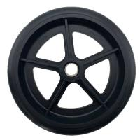Best Black 8 Inch PVC Wheelchair Replacement Front Wheels Stroller Pram Scoote wholesale
