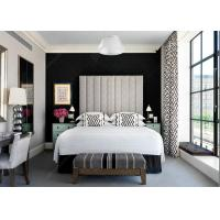 Black And White Color Antique Hotel Furniture Bedroom Set With Hotel Restaurant Furniture