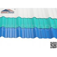 Best Ultraviolet Agent UPVC Corrugated Roofing Sheets With Various Thickness / Length wholesale