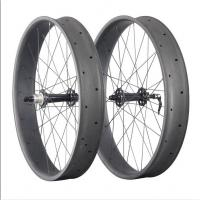 Best Powerway Black Hub 90mm Custom Fat Bike Wheels ,Snow 26 Inch Fat Bike Wheels wholesale