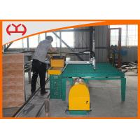 Best Programmable CNC Pipe Cutting Machine , CNC Tube Cutting Machine Static Graphic Display wholesale
