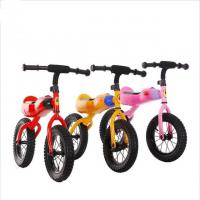 China Exercise Safety Baby Bicycle Easy Parking Mini Run and Walk Kids Balance Bike with rocket shape on sale