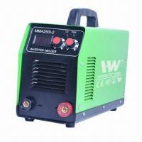 Best 250A DC inverter welder with digital display, can continuously work, 40 pieces 4.0mm electrode wholesale