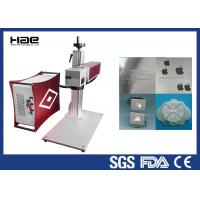 Best 30w 50w 100w Color Fiber Laser Marking Machine On Jewelry / Ring Watch Enlosed wholesale