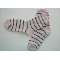 Best S / M / L Soft Terry-loop Wool Acrylic Mixed Socks With Single Needle wholesale
