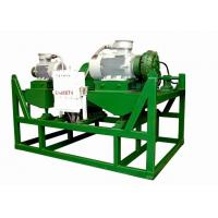 Buy cheap Industrial Drilling Mud Centrifuge Sludge Decanter Centrifuge 30kw Main Drive from wholesalers