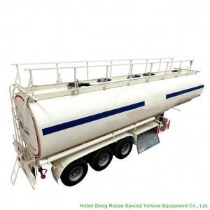 Best Tri Axl Crude  Oil Fuel Petrol Oil Tank Semi Trailer  45m3 Fuel Tank Carrier wholesale