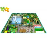 Best Commercial Jungle Theme Toddler Indoor Soft Play Playground Equipment Customized Size wholesale