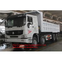 China Tractor Trailer Dump Truck Heavy Duty Commercial Trucks 30m3 Front Lifting on sale