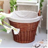 China Willow/Wicker Woven laundry baskets,storage container, ect on sale