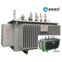 Best 33 KV - 500 KVA Low Noise Power Transformer Low Loss ONAN / ONAF Cooling wholesale