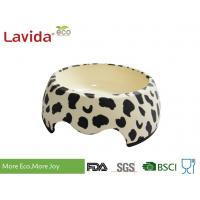 China Decal Printing Reusable Melamine Dog Bowl Modern Design Anti - Bacteria Diverse Styles on sale