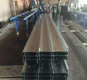 Best Q235b Q345b Galvanised Steel Purlins Cold Bending Spacing Steel Channel wholesale