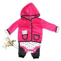 Buy cheap Newborn Baby Girl Winter Clothes Jacket 220G Coral Fleece 100% Polyester from wholesalers