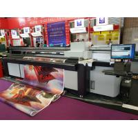 Best 2.5m Hybrid UV Printer with RICOH GEN5/GH2220/KM1024i/KM512i Heads for Both Rigid Flat and Soft Roll to Roll Materials wholesale