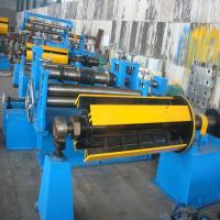 Semiautomatic 380V / 3PH Steel Slitting Line Machine with Hydraulic Tension Station