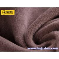 China Polyester jacquard weave short pile micro velvet for upholstery, sofa and apparel on sale