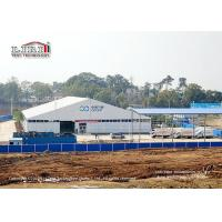Buy cheap 40x70m Aluminum Outdoor Event Tents ABS Hard Wall For Medical Waste Disposal from wholesalers