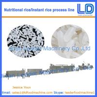 Best Artificial rice/Instant Rice Food processing line price wholesale