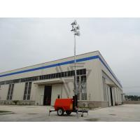 Best 9m Height Mobile lighting tower with 8KW kubota diesel generator with 4*1000w metal halide lights ! wholesale