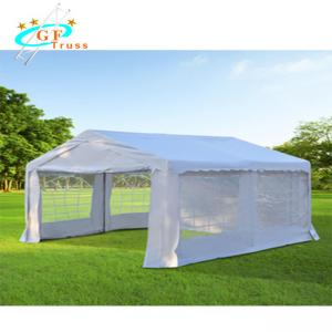 Best Rot - Resistant Aluminum Party Tent With 2 Removable Sidewalls wholesale
