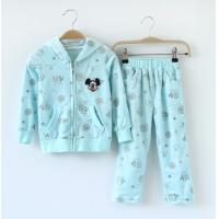 China Girl's Fashional Flannel  Suits with Hood on sale